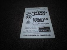 Scunthorpe United v Halifax Town, 1985/86 [FRT]